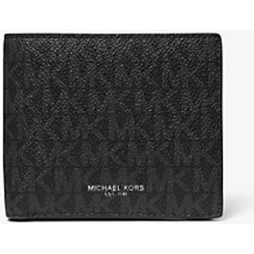 MK Portefeuille compact Greyson à logo avec compartiment à monnaie - - Michael Kors - Michael Kors Mens - Modalova