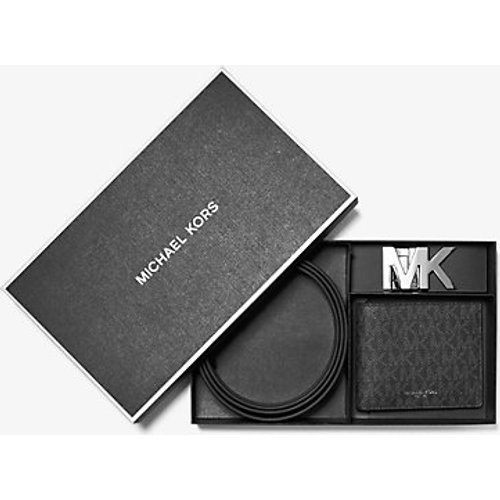 MK Coffret ceinture et portefeuille compact avec logo - - Michael Kors - Michael Kors Mens - Modalova