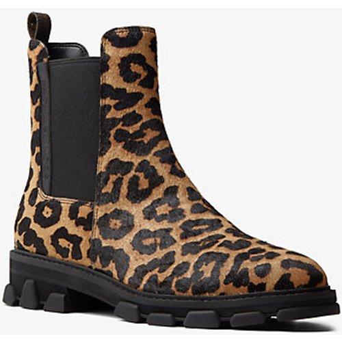 MK Botte Ridley en poil de vachette à imprimé léopard - - Michael Kors - MICHAEL Michael Kors - Modalova