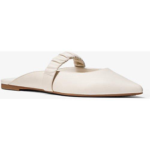 MK Chaussure plate Flex Raleigh en cuir - CRÈME CLAIRE(NATUREL) - Michael Kors - MICHAEL Michael Kors - Modalova