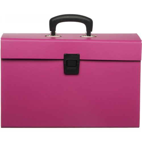 HALF PRICE! WHSmith Blue or Pink Expanding Home File