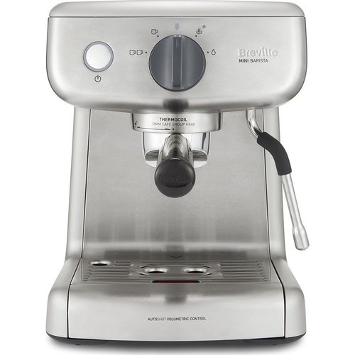 Save 33% - BREVILLE VCF125 Mini Barista Coffee Machine - Stainless Steel, Stainless Steel