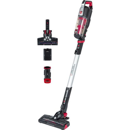 Save £40.00 - HOOVER H-FREE 500 Home HF522BH Cordless Vacuum Cleaner - Red & Black, Red