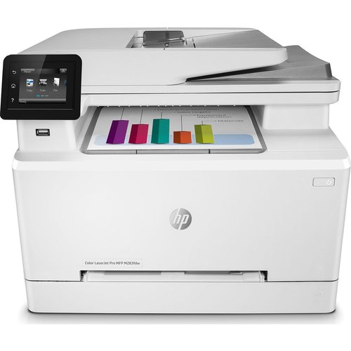 HP Color LaserJet Pro MFP M283fdw All-in-One Wireless Laser Printer with Fax, Black