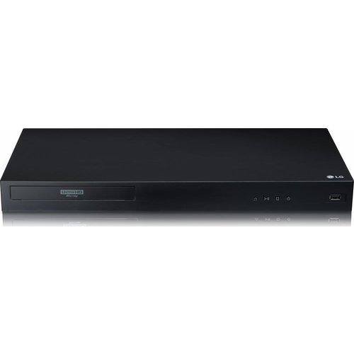 LG UBK80 4K Ultra HD HDR Blu-ray & DVD Player, Black
