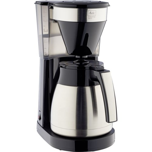 Save £10.01 - MELLITA Easy Top Therm II Filter Coffee Machine - Black & Stainless Steel, Stainless Steel