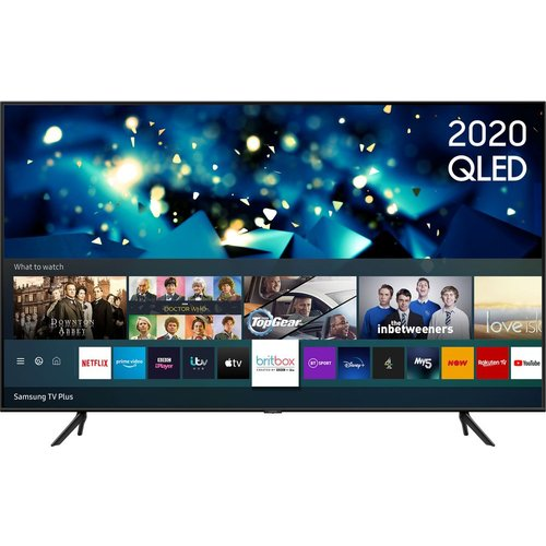 "58"" SAMSUNG QE58Q60TAUXXU  Smart 4K Ultra HD HDR QLED TV with Bixby, Alexa & Google Assistant"