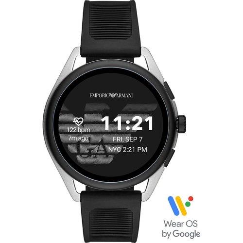 Save £100.00 - EMPORIO ARMANI ART5021 Smartwatch - Silver, Universal, Silver