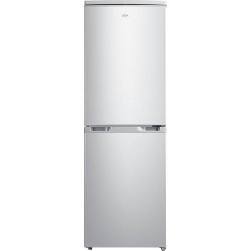 Save £20.00 - LOGIK LFC50S20 50/50 Fridge Freezer - Silver, Silver