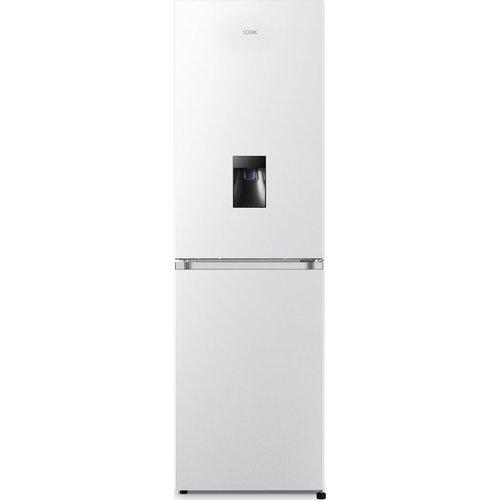 Save £50.00 - LOGIK LSD55W20 50/50 Fridge Freezer - White, White