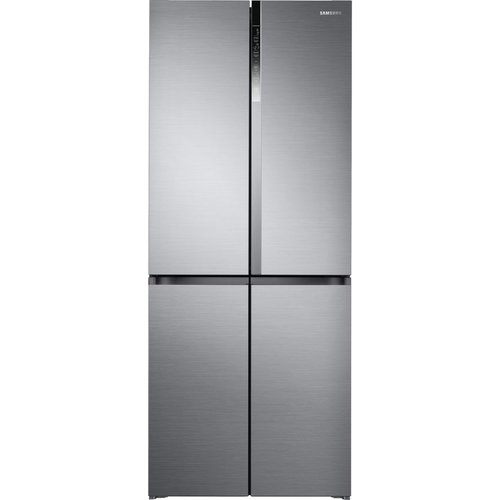 Save £400.00 - SAMSUNG RF50K5960S8/EU Fridge Freezer - Silver, Silver
