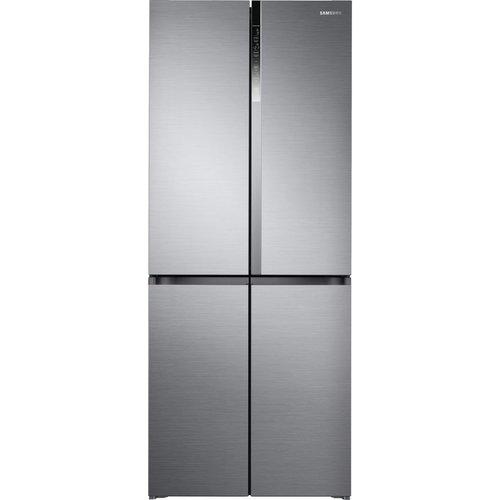 Save £400.00 - SAMSUNG RF50K5960S8/EU Fridge Freezer - Silver, Silver