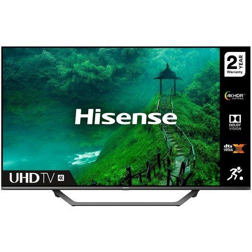 "Save £130.00 - 65"" HISENSE 65AE7400FTUK  Smart 4K Ultra HD HDR LED TV with Amazon Alexa"