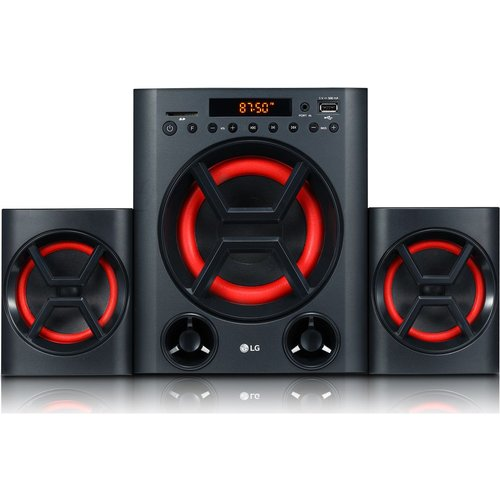 Save £10.00 - LG XBOOM LK72B Bluetooth Traditional Hi-Fi System - Black, Black