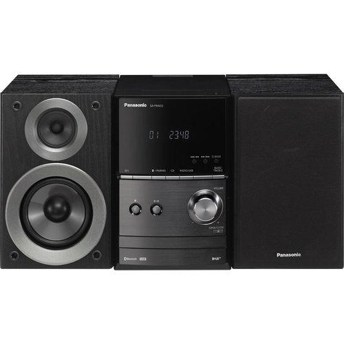 Save £25.00 - PANASONIC SC-PM602EB-K Wireless Traditional Hi-Fi System - Black, Black