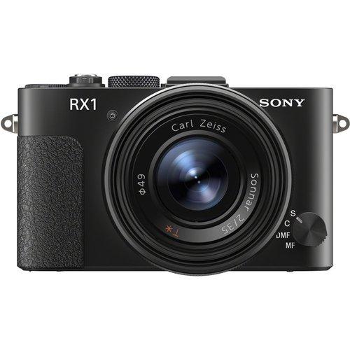 Save £400.00 - SONY DSC-RX1 High Performance Compact Camera - Black, Black
