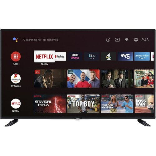Save £30.00 - LOGIK L43AFE20 Android TV  Smart Full HD LED TV with Google Assistant