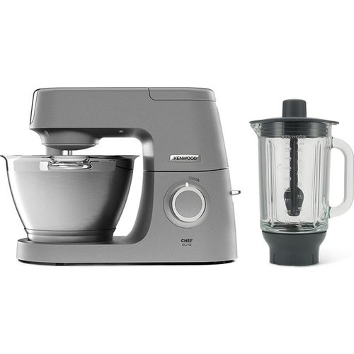 Save 36% - Chef Elite KVC5320S Stand Mixer with Glass Blender - Silver, Silver