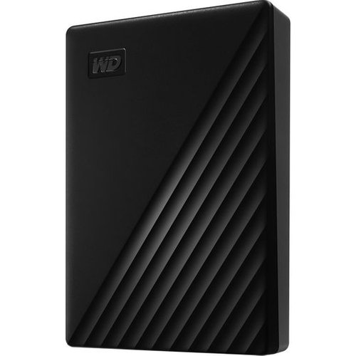 My Passport Portable Hard Drive - 5 TB, Black, Black