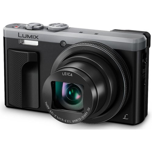 PANASONIC Lumix DMC-TZ80EB-S Superzoom Compact Camera - Silver, Silver