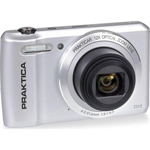 Save 32% - PRAKTICA Luxmedia Z212-S Compact Camera - Silver, Silver