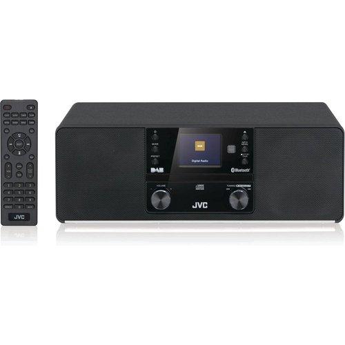 Save £20.00 - JVC RD-D80 Bluetooth All-in-One Hi-Fi System - Black, Black