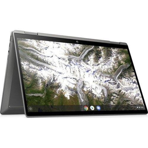 """Save £100.00 - HP x360 14"""" 2 in 1 Chromebook - Intelu0026regCore i5, 128 GB eMMC, Silver, Silver"""
