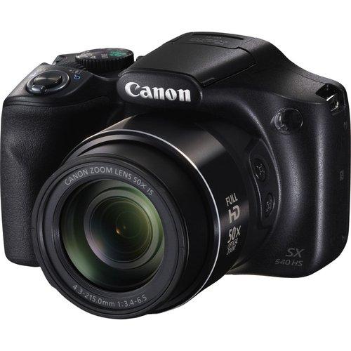 Canon PowerShot SX540 HS Bridge Camera - Black, Black