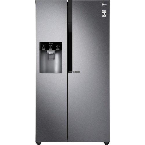 Save £350.00 - LG GSL460ICEV American-Style Fridge Freezer - Dark Graphite, Graphite