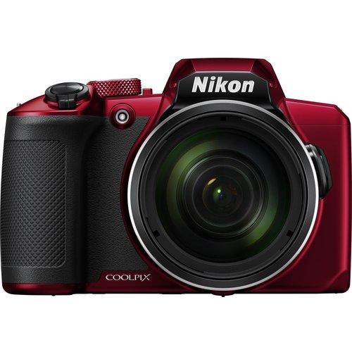 Save £20.00 - NIKON COOLPIX B600 Bridge Camera - Red, Red