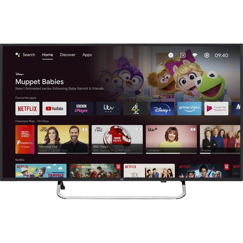 "Save £70.00 - 40"" JVC LT-40CA790 Android TV  Smart Full HD LED TV with Google Assistant"