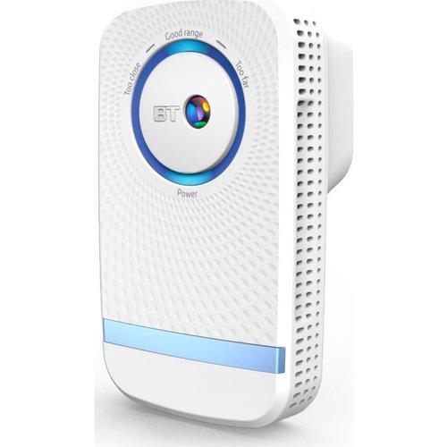 Save £10.00 - BT 11ac WiFi Range Extender - AC 1200, Dual Band