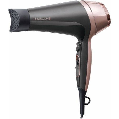 Curl and Straight Confidence D5706 Hair Dryer - Grey & Rose Gold, Grey