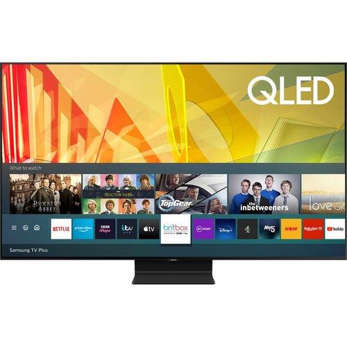"Save £800.00 - 75"" SAMSUNG QE75Q90TATXXU  Smart 4K Ultra HD HDR QLED TV with Bixby, Alexa & Google Assistant"