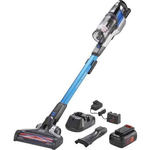 Save £40.00 - BLACK  DECKER PowerSeries Extreme BHFEV362D-GB Cordless Vacuum Cleaner - Blue, Black