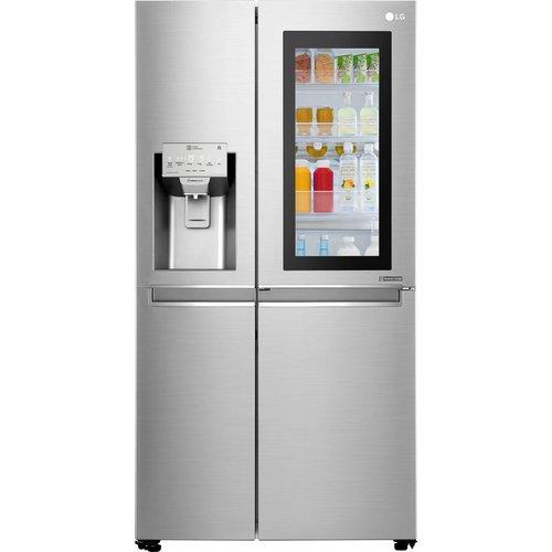 Save £400.00 - LG GSX961NSVZ American-Style Smart Fridge Freezer - Steel