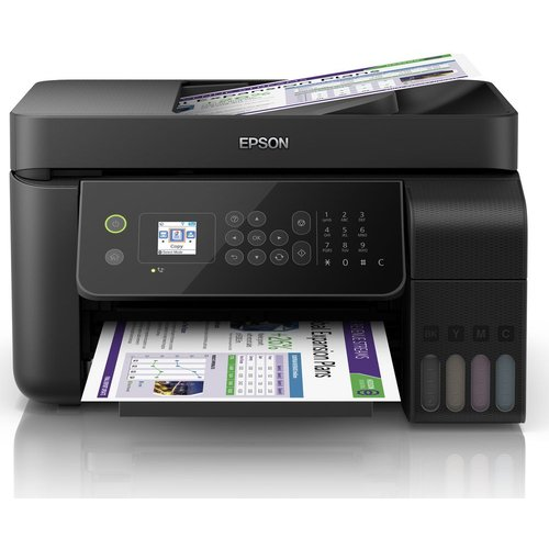 EcoTank ET-4700 All-in-One Wireless Inkjet Printer with Fax, Black