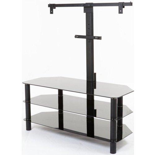HALF PRICE! LOGIK S105BR14 TV Stand with Bracket, Black