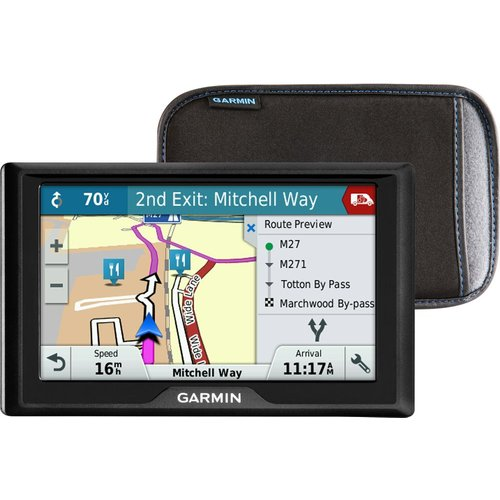 "Save £20.00 - GARMIN GARMIN Drive 51LMT-S UK 5"" Sat Nav - UK & ROI Maps & Case"