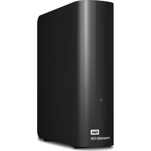 WD Elements External Hard Drive - 8 TB, Black, Black