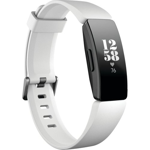 Save 33% - Fitbit Inspire HR Fitness Tracker - White, Universal, White