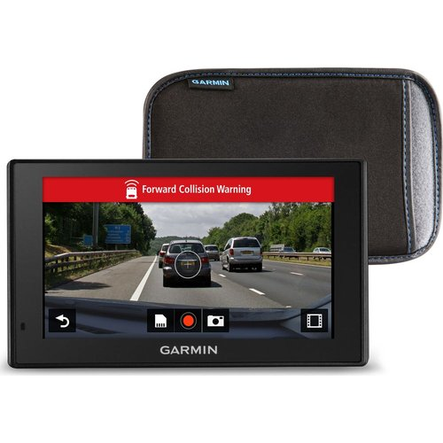 "Save £30.00 - GARMIN DriveAssist 51LMT-S EU 5"" Sat Nav - Full Europe Map, Dash Cam & Case"
