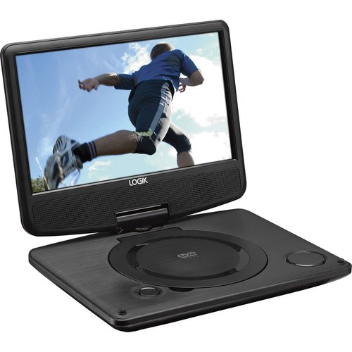 LOGIK L9SPDVD16 Portable DVD Player - Black, Black