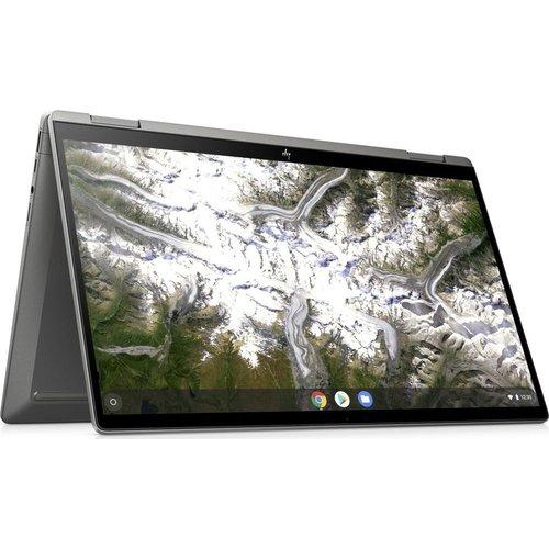 """Save £100.00 - HP x360 14"""" 2 in 1 Chromebook - Intelu0026regCore i3, 128 GB eMMC, Silver, Silver"""