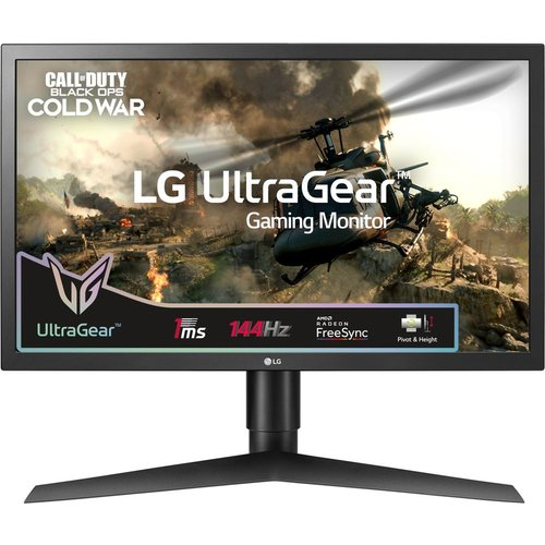 LG UltraGear 24GL650F Full HD 23.6ö LCD Gaming Monitor - Black, Black