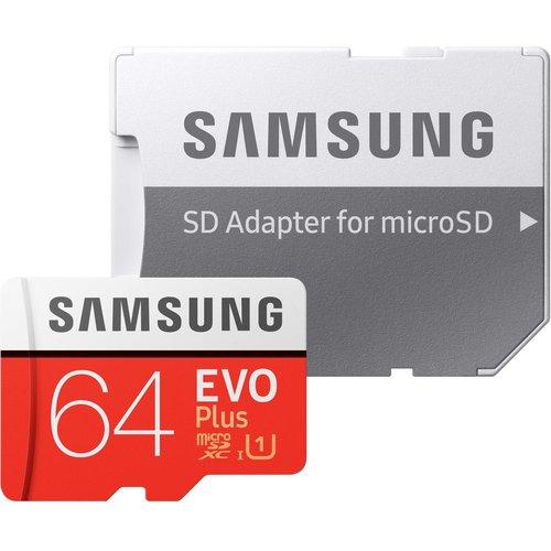 Save 60% - SAMSUNG Evo Plus Class 10 microSD Memory Card - 64 GB