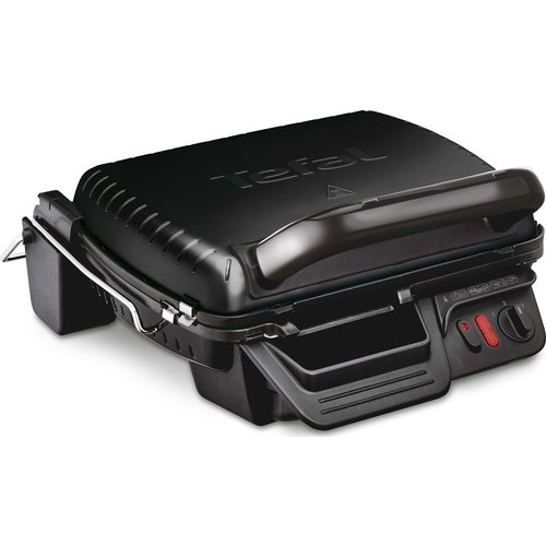 Save 30% - TEFAL Ultracompact 3-in-1 GC308840 Health Grill - Black, Black