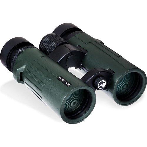 PRAKTICA Pioneer 8 x 42 mm Binoculars - Green, Green