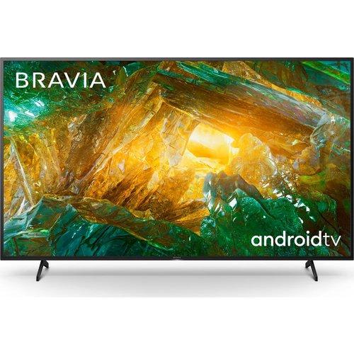 "Save £100.00 - 65"" SONY BRAVIA KD65XH8096BU  Smart 4K Ultra HD HDR LED TV with Google Assistant, Blue"