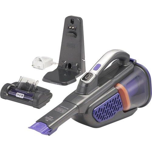 Save £20.00 - BLACK  DECKER Dustbuster BHHV520BFP-GB Handheld Vacuum Cleaner - Purple & Grey, Black